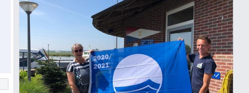 De vlag kan weer uit bij de jachthaven en Camping